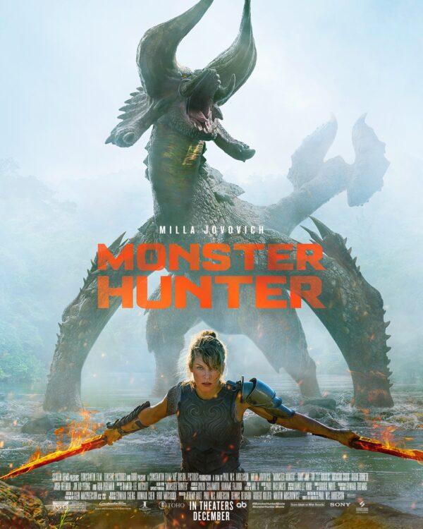 monster hunter poster 2 600x750 - Monster Hunter Sony divulga trailer oficial com Milla Jovovich enfrentando monstros gigantescos