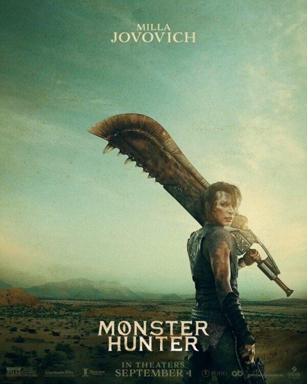 monster hunter poster 3 600x750 - Monster Hunter Sony divulga trailer oficial com Milla Jovovich enfrentando monstros gigantescos