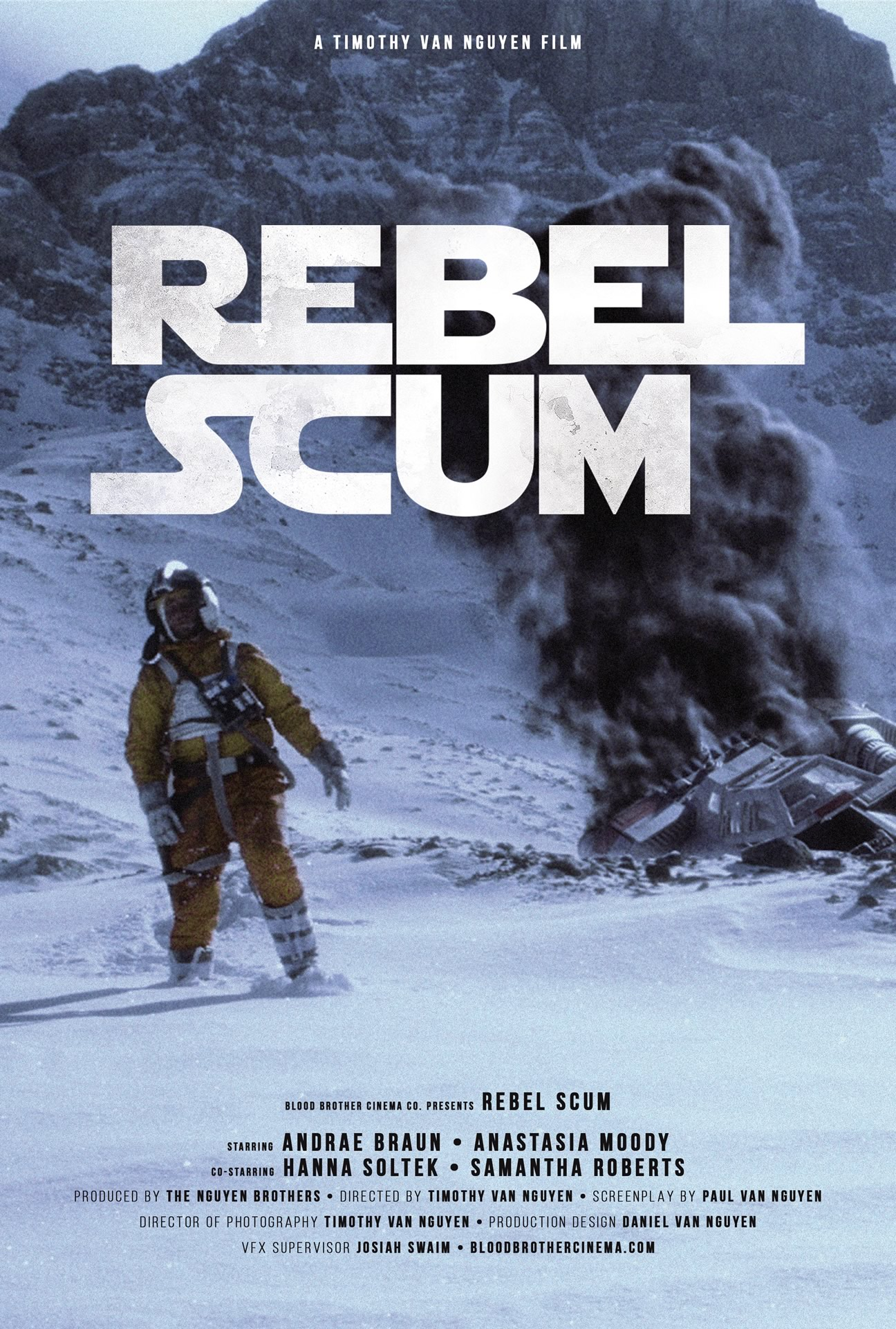 REBEL SCUM - Fan Film de 2016 de Star Wars da  Blood Brother Cinema Co.