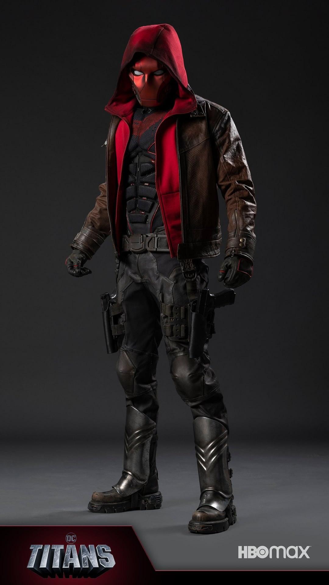 revelada visual de capuz vermelho terceira temporada de titans - Revelado o visual do Capuz Vermelho para terceira temporada de Titans