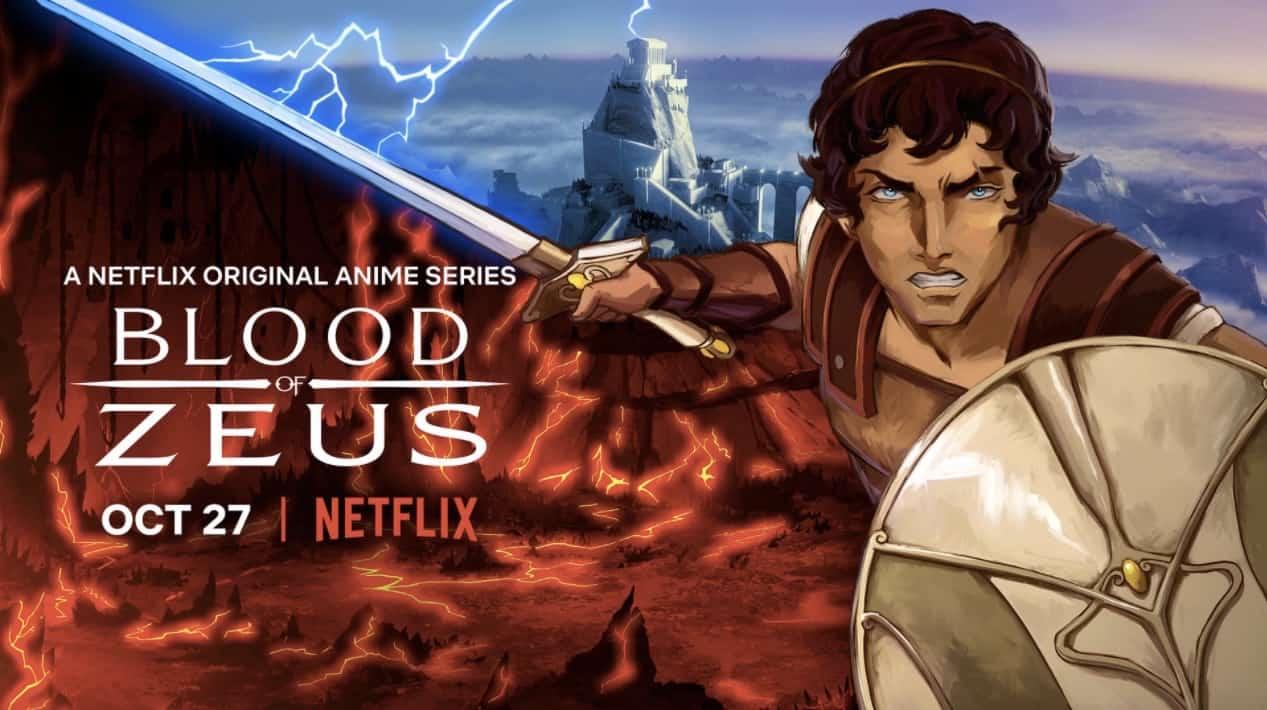 O Sangue de Zeus | Trailer da nova série animada sobre mitologia grega na Netflix