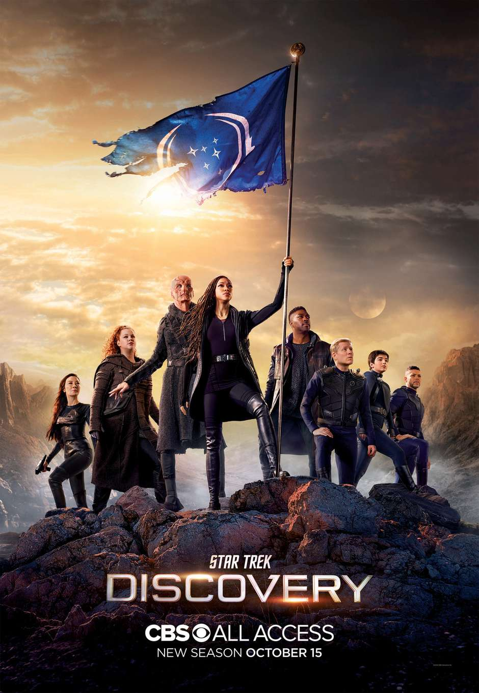 star trek discovery 3 temporada - STAR TREK: DISCOVERY renovada para a 4ª temporada