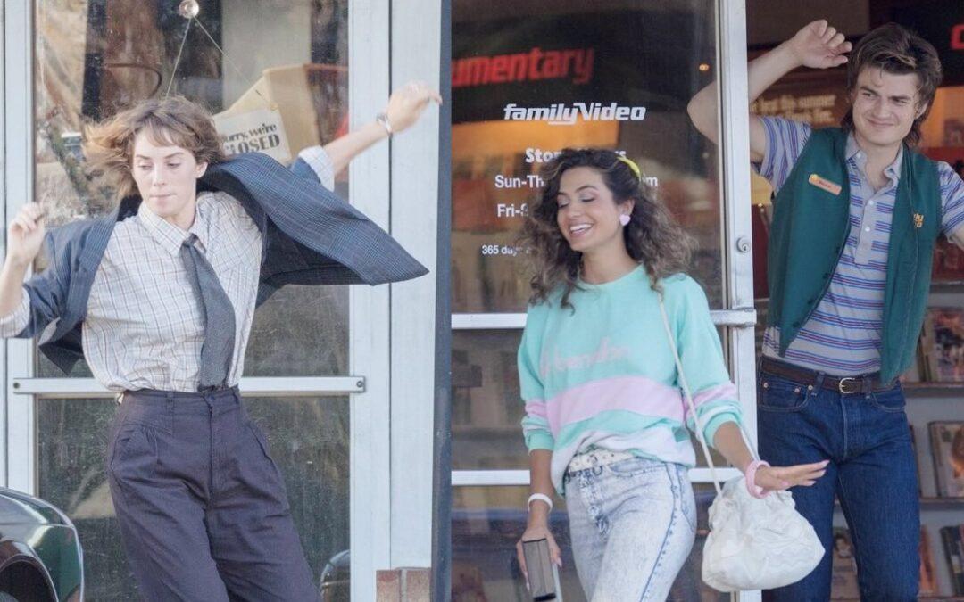 Stranger Things 4 | Fotos de bastidores da quarta temporada mostra possível namorada de Steve