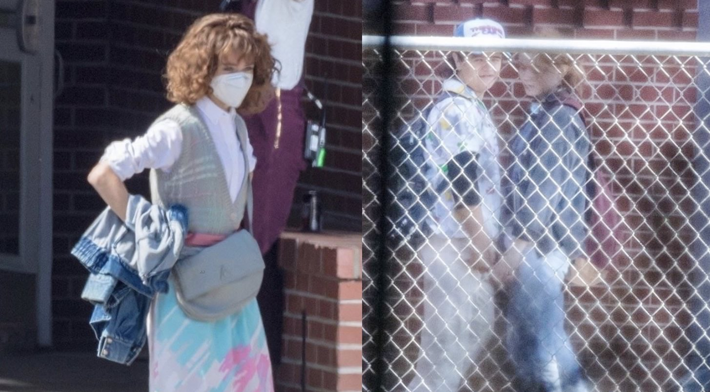 Stranger Things 4   Primeiras imagens de Natalia, Gaten e Sadie no set de gravação da 4ª temporada de Stranger Things