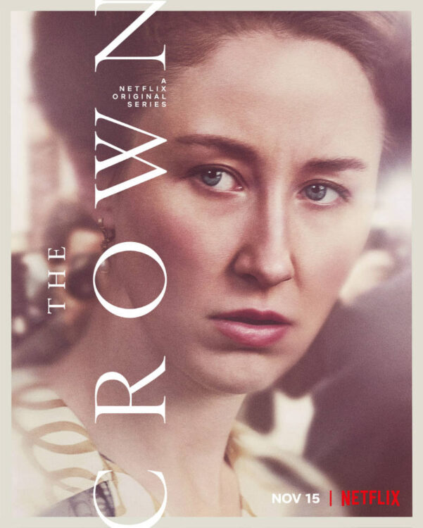 the crown quarta temporada netflix a 601x750 - The Crown | Netflix divulga trailer da quarta temporada com Olivia Colman e Gillian Anderson