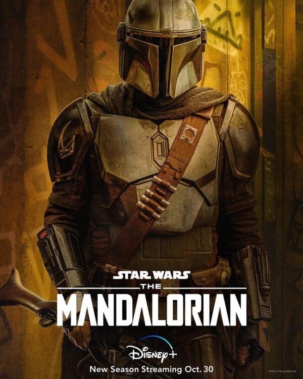 the mandalorian 2 novos cartazes a 600x750 - Novos cartazes de The Mandalorian Segunda Temporada no Disney Plus