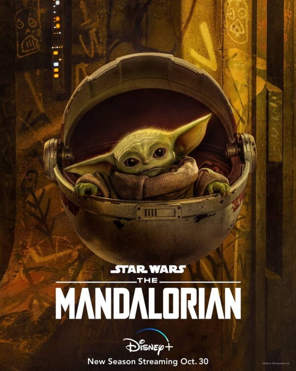 the mandalorian 2 novos cartazes d 600x750 - Novos cartazes de The Mandalorian Segunda Temporada no Disney Plus