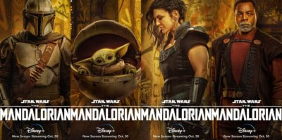 Novos cartazes de The Mandalorian Segunda Temporada no Disney Plus