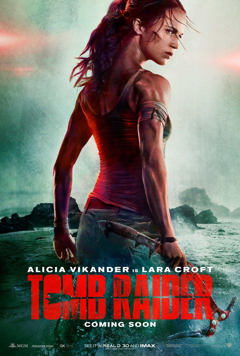 Tomb Raider 2 com Alicia Vikander tem data de estreia divulgada