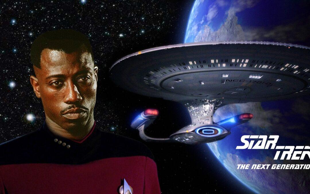 Wesley Snipes quase foi escalado para o elenco de Star Trek Next Generation