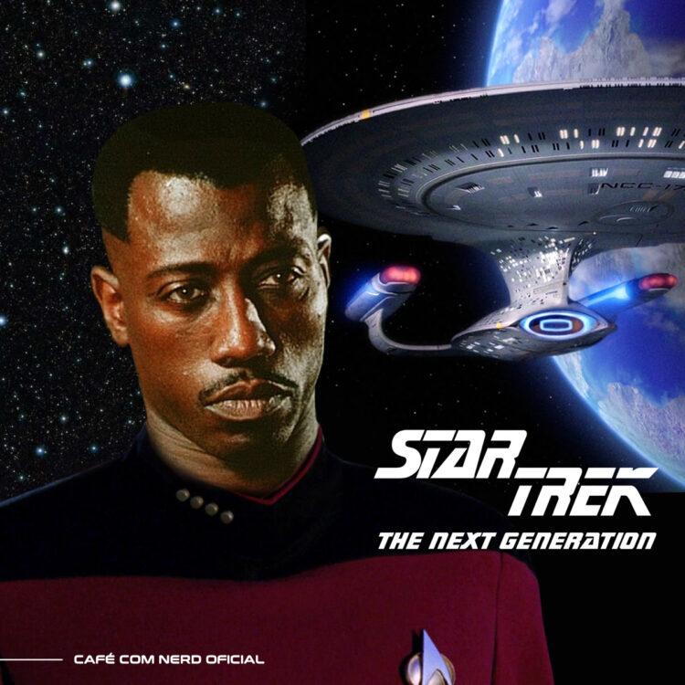 wesley snipes tnt 750x750 - Wesley Snipes quase foi escalado para o elenco de Star Trek Next Generation