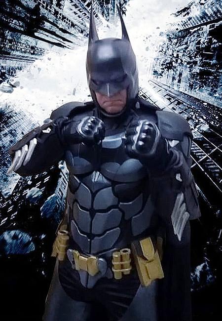 COSPLAYER - Altevir Frank Batman de Curitiba
