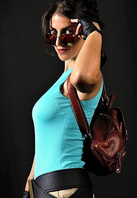 Cosplayer - Crofty - The Old School Lara Croft