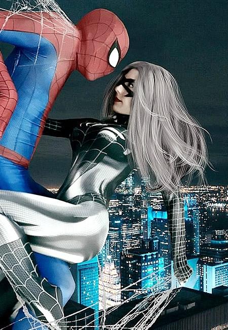 Cosplayer - Debnise - Mary Jane - Spiderman - Venon