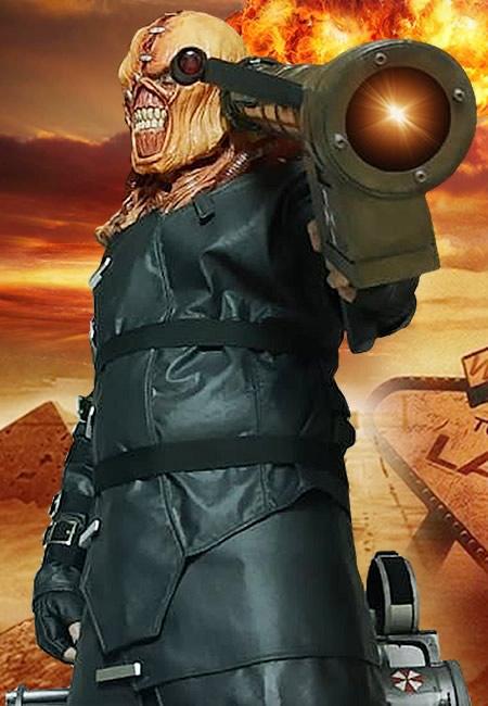 Cosplayer - Eduardo Margarida - Nemesis Resident Evil