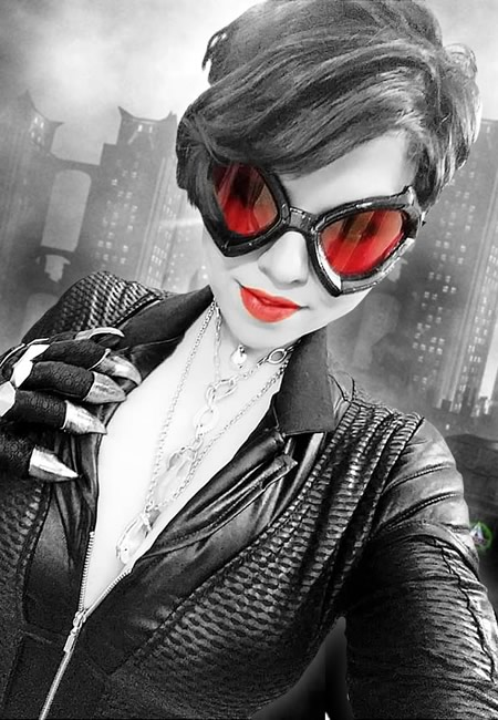 Cosplayer - Miss Kyle - Mulher-Gato - Selina Kyle