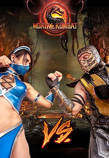 Cosplayer - Josi e André - Mortal Kombat