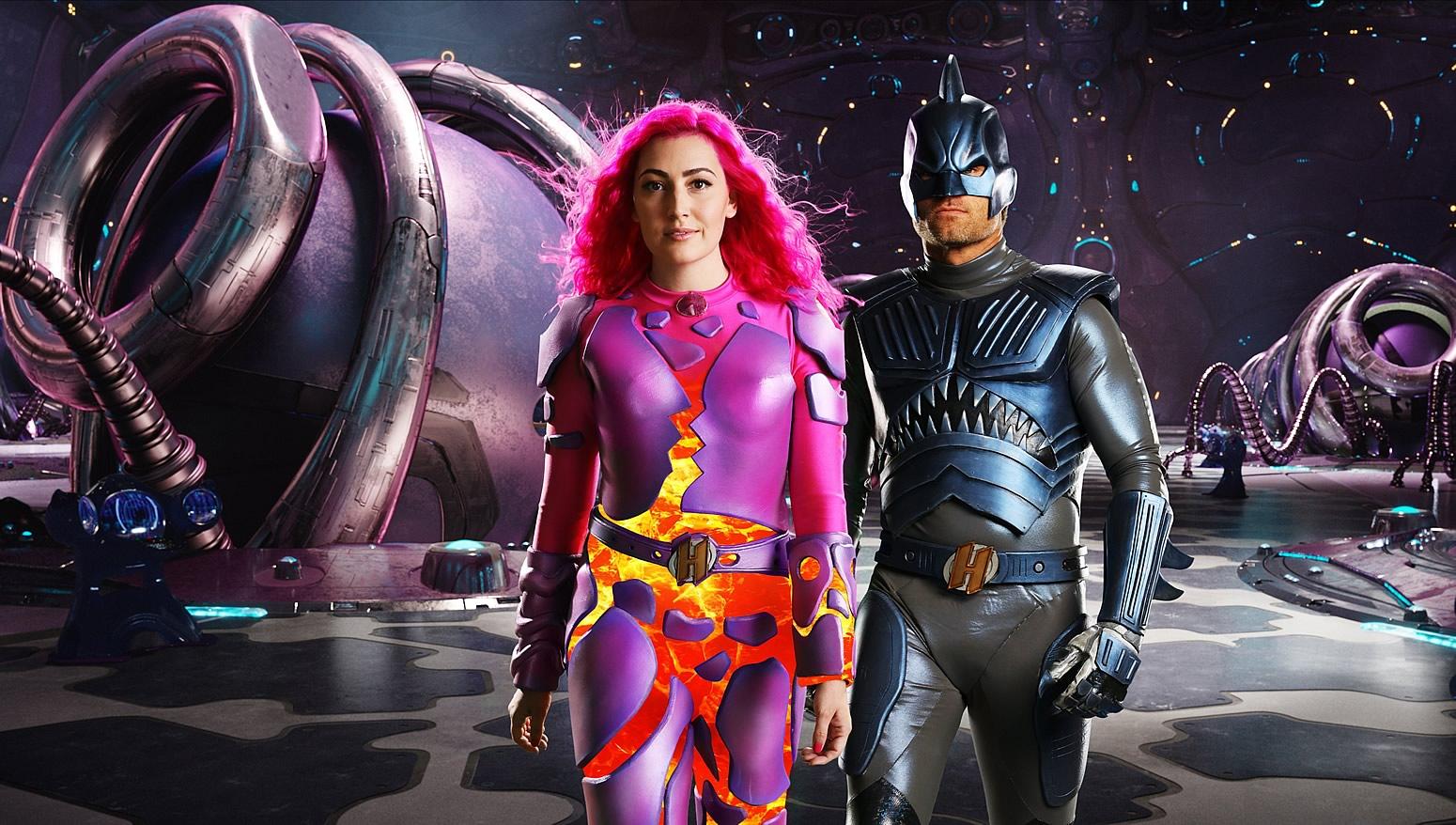 Pequenos Grandes Heróis | Netflix divulga imagens de Sharkboy e Lavagirl como adultos no filme