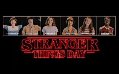 Stranger Things Day – Netflix declara dia 6 de Novembro como dia de Stranger Things com fotos de bastidores