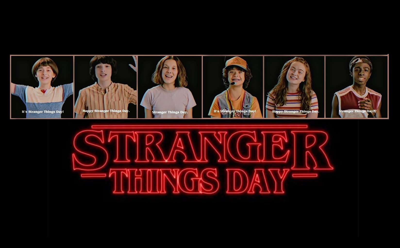 Stranger Things Day - Netflix declara dia 6 de Novembro como dia de Stranger Things com fotos de bastidores