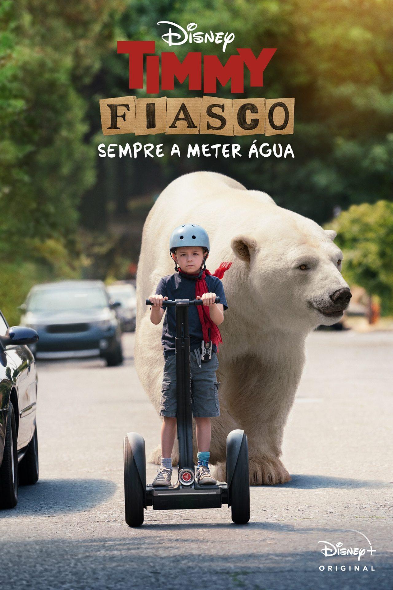 Timmy Fiasco- Um detetive de 11 anos e um urso polar imaginário