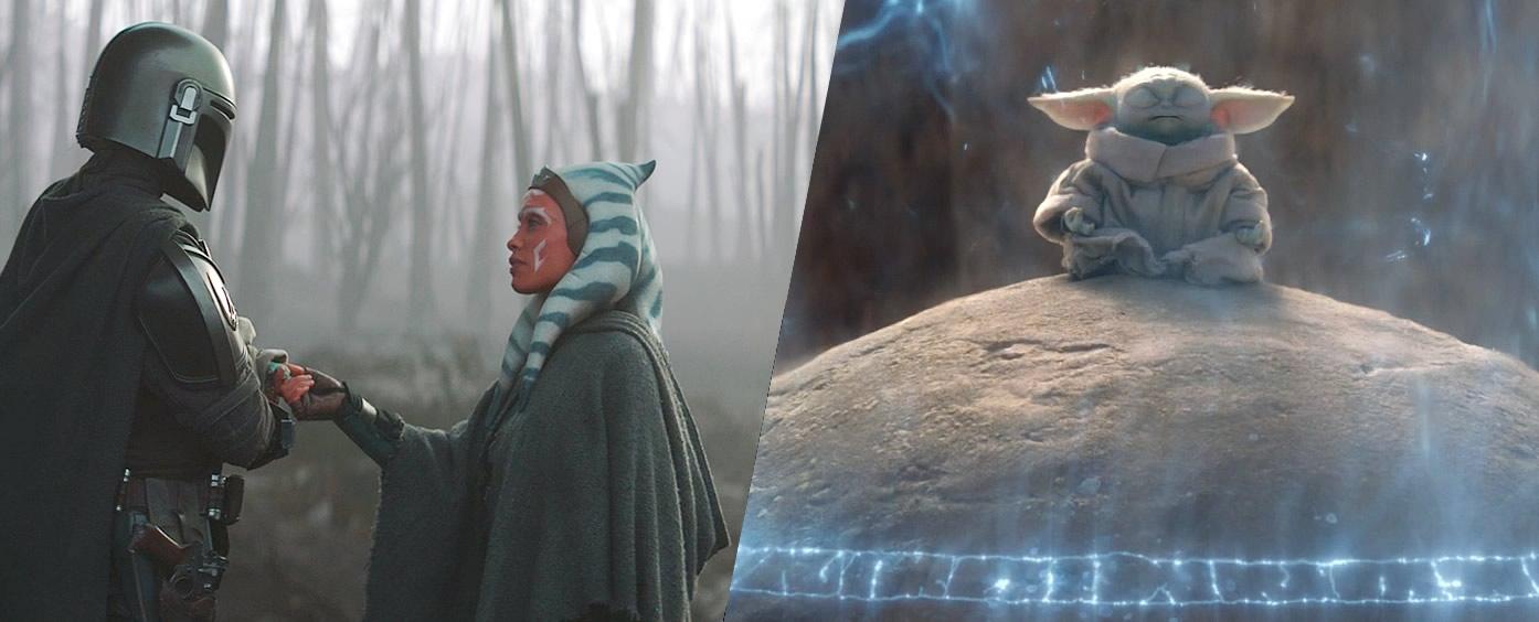 ahsoka tano fala para mando levar baby yoda ao planeta tython se comunicar com a forca the mandalorian 2 - The Mandalorian   Quiz da Segunda Temporada