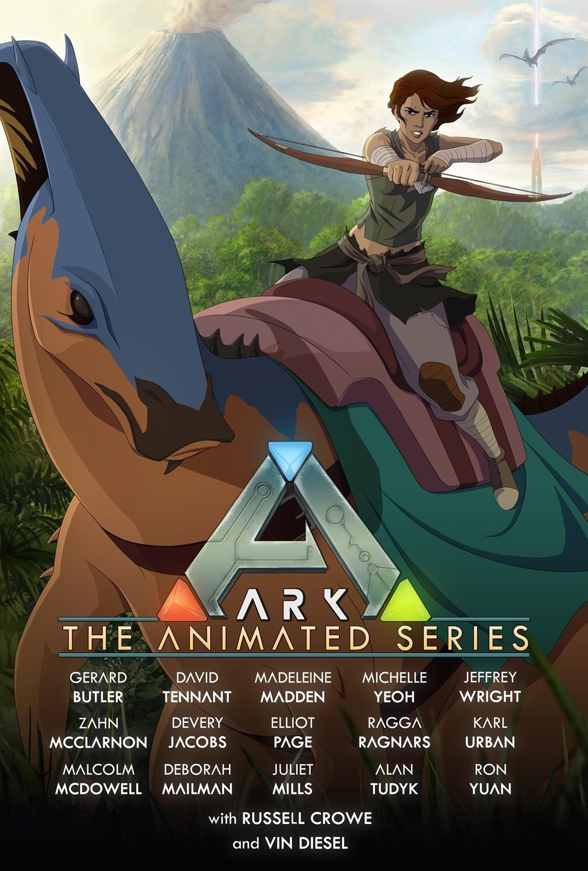 ark the animated series do studio wildcard - ARK: The Animated Series do Studio Wildcard com Vin Diesel e Karl Urban