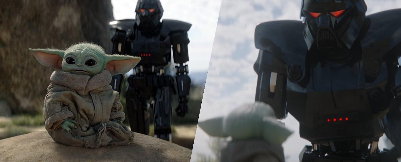 baby yoda capturado por droids de moff gideon the mandalorian 2 - The Mandalorian   Quiz da Segunda Temporada