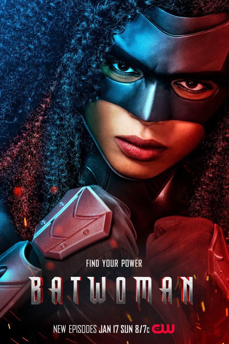 Batwoman segunda temporada tem Javicia Leslie em destaque no cartaz