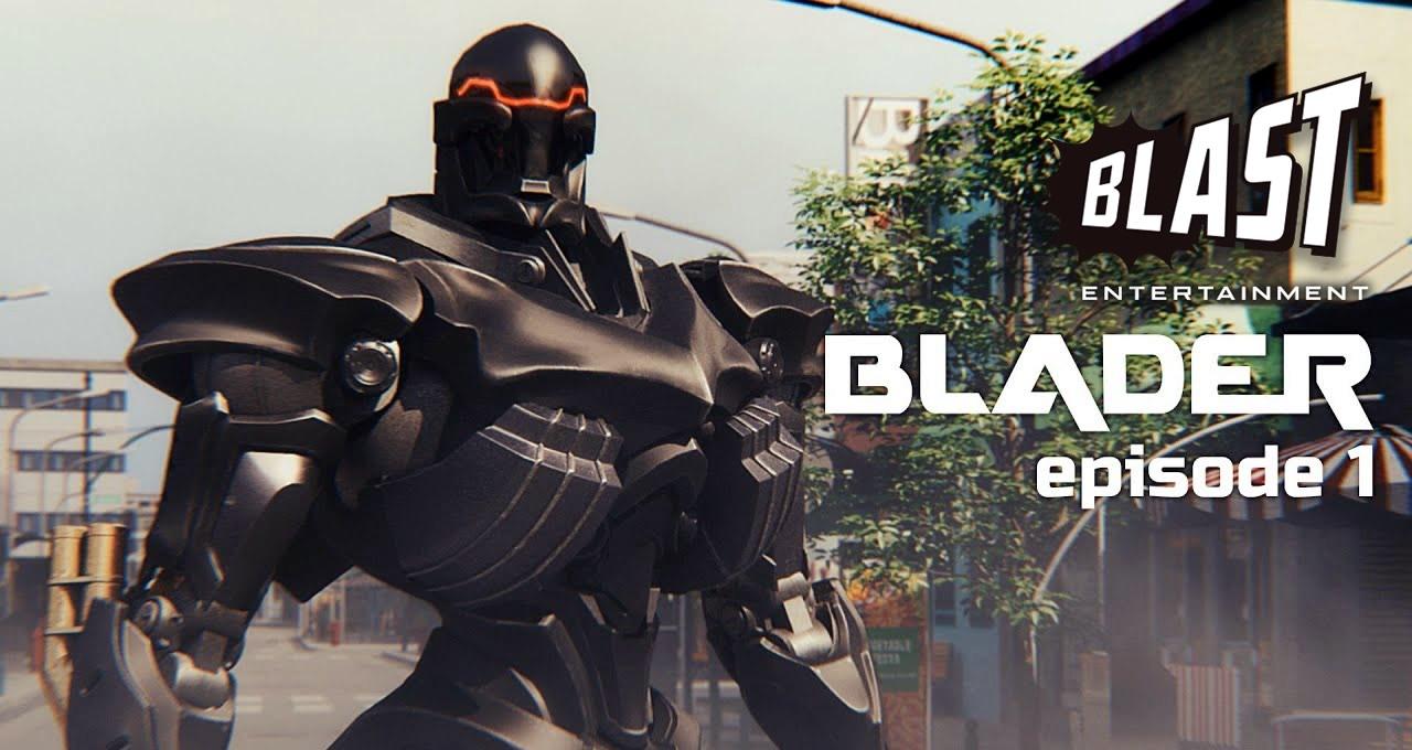 BLADER | Série colaborativa de Hollywood será lançada em versões em japonês e inglês no YouTube