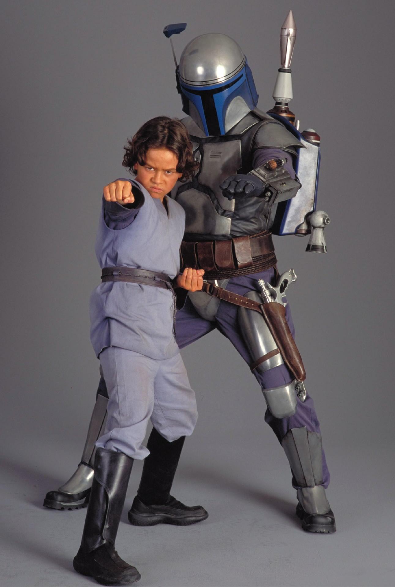 Temuera Morrison e Daniel Logan: Jango Fett e Boba Fett em Star Wars Ataque dos Clones, o Boba Fett, tem futuro incerto na franquia STAR WARS