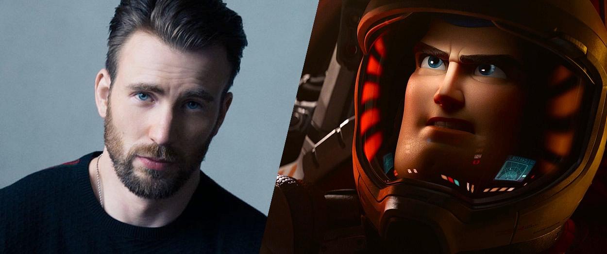 filme lightyear da pixar dublado por chris evans - Filme de BUZZ LIGHTYEAR da Pixar será dublado por Chris Evans