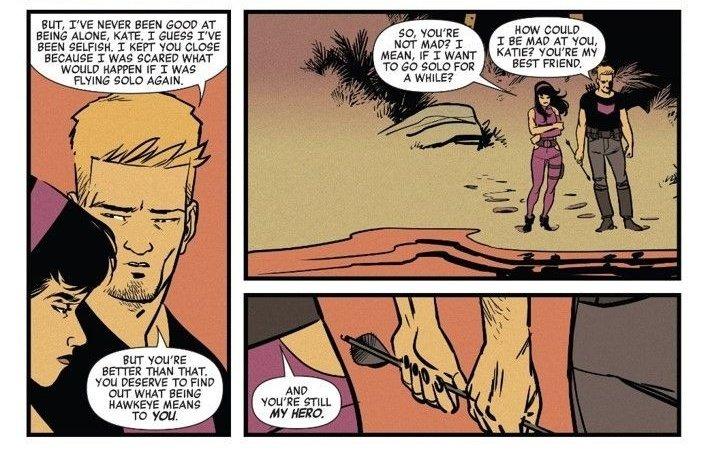 Hawkeye | Imagens de Hailee Steinfeld como Kate Bishop relacionadas aos quadrinhos