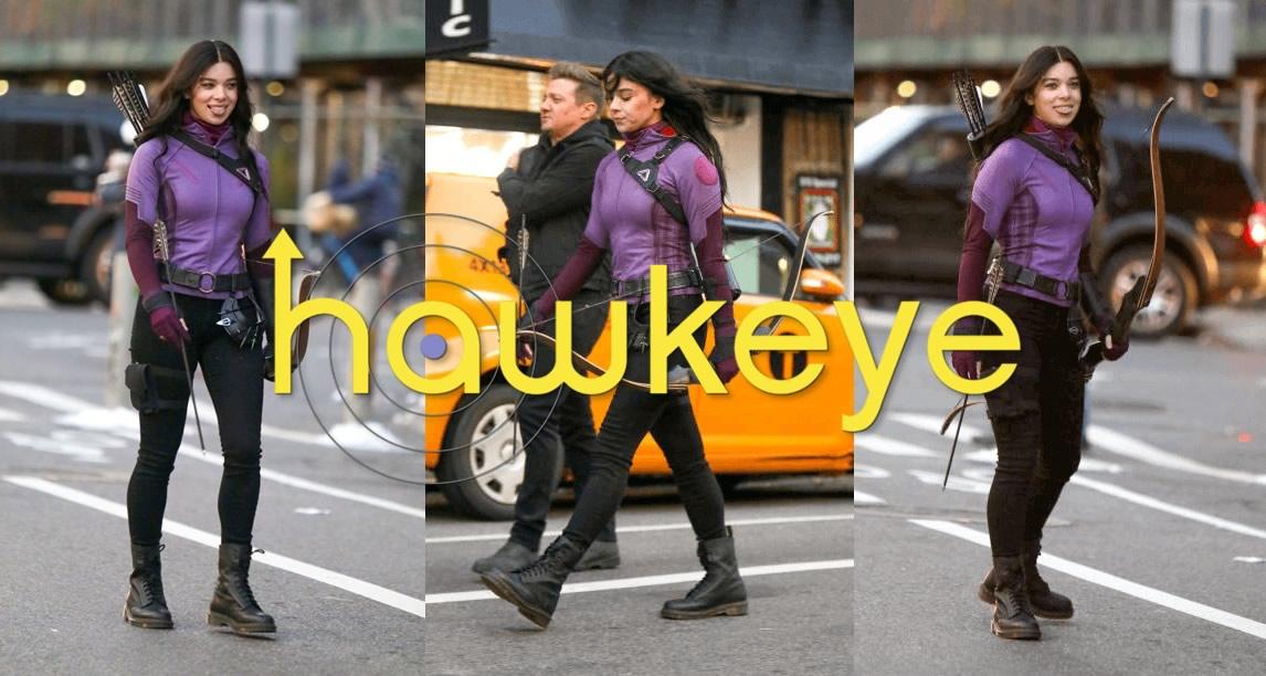 Hawkeye | Série do Gavião Arqueiro tem imagens de Hailee Steinfeld como Kate Bishop de uniforme