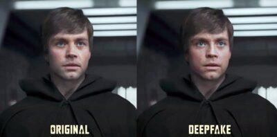 Luke Skywalker poderia ser em Deepfake no episódio final da segunda temporada de The Mandalorian