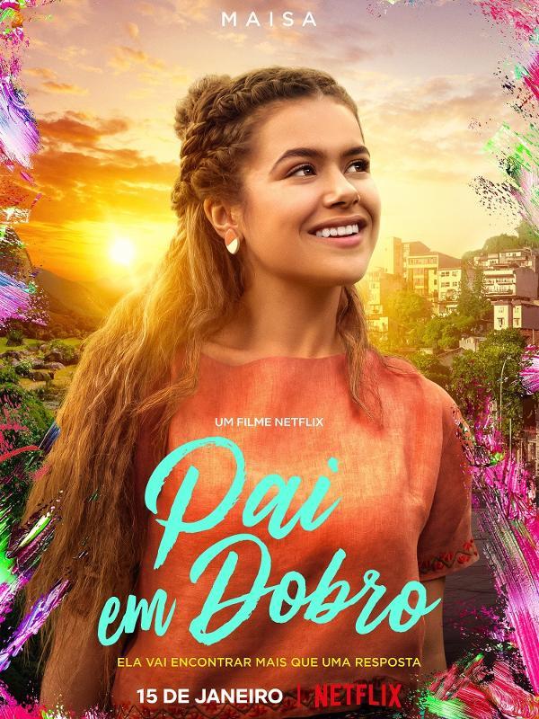 Pai em Dobro | Netflix divulga trailer de filme com Maisa Silva