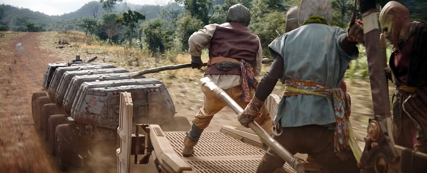 mayfeld e mando em um veiculo juggernaut transportando rhydonium the mandalorian 2 - The Mandalorian   Quiz da Segunda Temporada