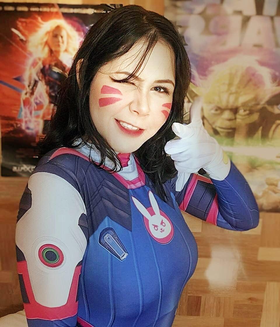 mayu cosplay d va overwatch - Mayu Cosplay
