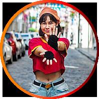 mayu cosplay pan dragonball z - Mayu Cosplay
