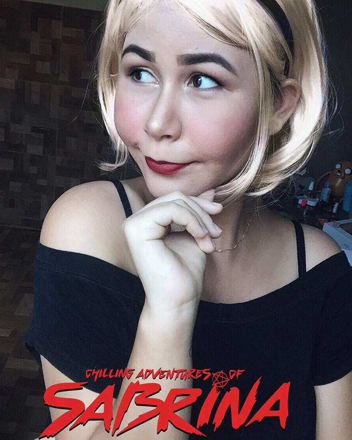 mayu cosplay sabrina o mundo sombrio - Mayu Cosplay