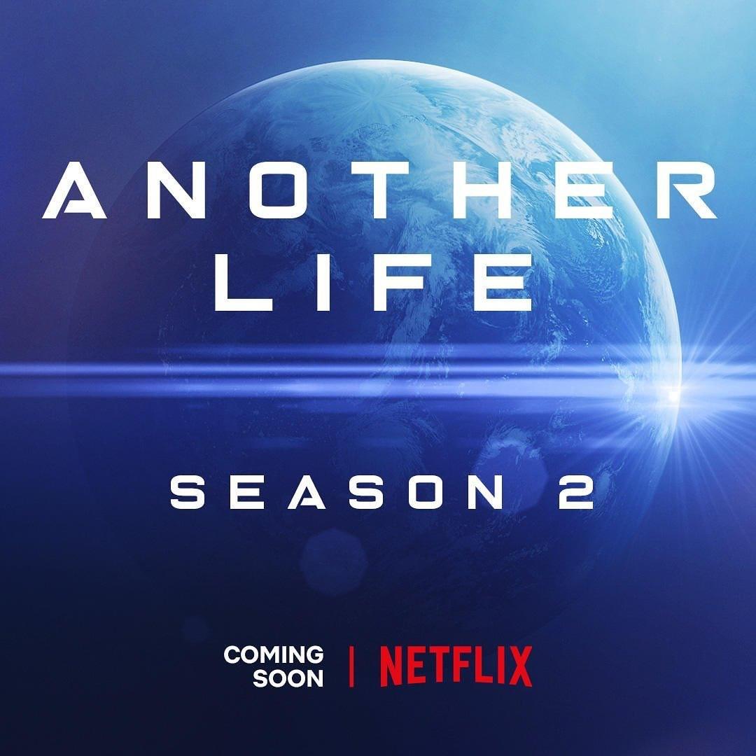 Katee Sackhoff anuncia em suas redes sociais para comemorar o fim das filmagens da segunda temporada de Outra Vida