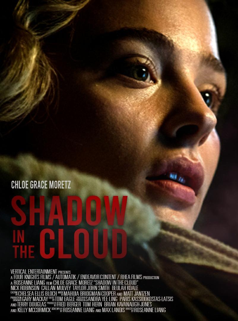 shadow in the cloud chloe grace moretz enfrenta gremlin poster - Chloë Grace Moretz enfrenta um Gremlin em Shadow in the Cloud