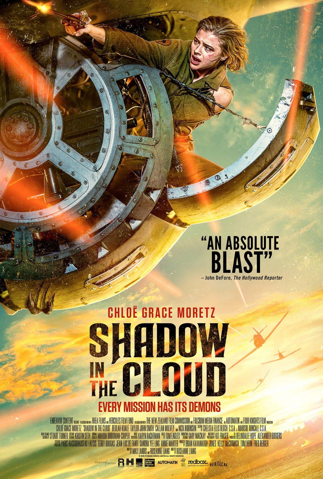 Chloë Grace Moretz enfrenta um Gremlin em Shadow in the Cloud
