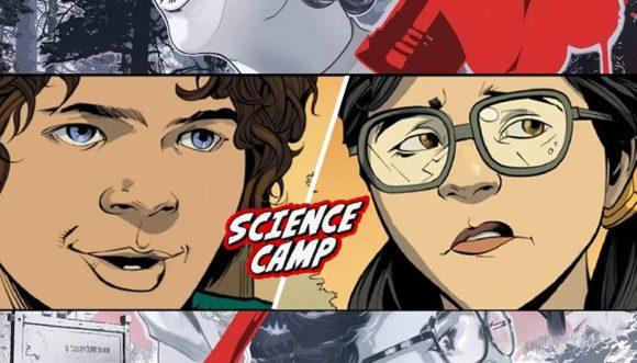 Stranger Things | HQ Science Camp da Dark Horse revela como Dustin e Suzie se conheceram