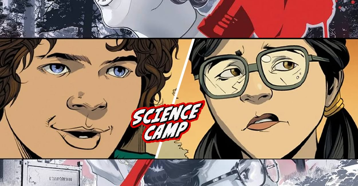 Stranger Things   HQ Science Camp da Dark Horse revela como Dustin e Suzie se conheceram