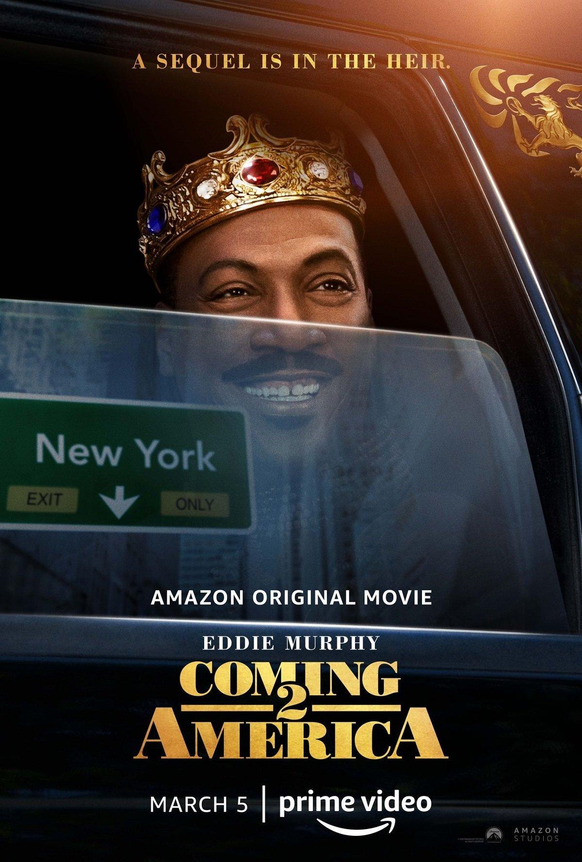 Um Príncipe em Nova York 2 com Eddie Murphy e Arsenio Hall na Amazon Prime Vídeo