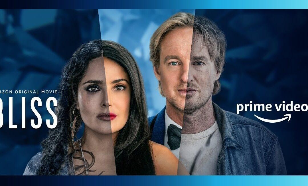 BLISS | Owen Wilson e Salma Hayek questionando a realidade em filme de ficção científica da Amazon Prime Video