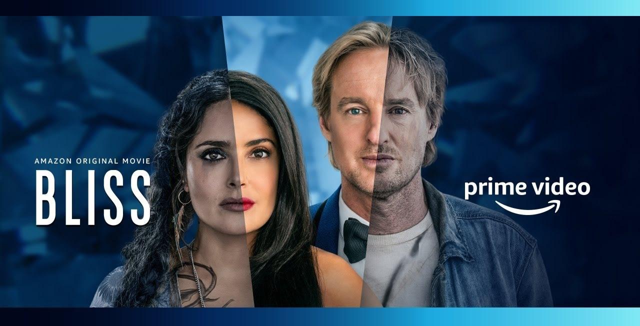 BLISS   Owen Wilson e Salma Hayek questionando a realidade em filme de ficção científica da Amazon Prime Video