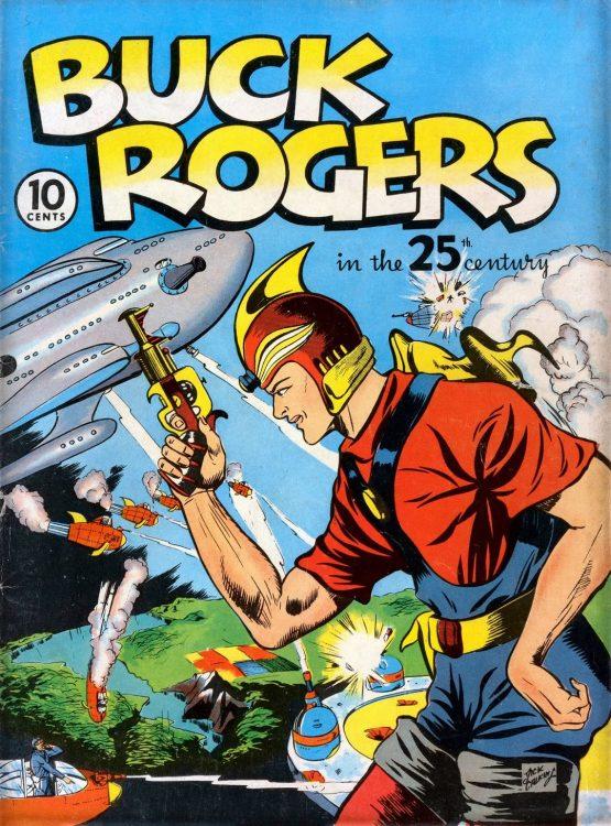 buck rogers serie hq 555x750 - BUCK ROGERS | Série sendo desenvolvida pela Legendary Pictures com George Clooney como produtor executivo