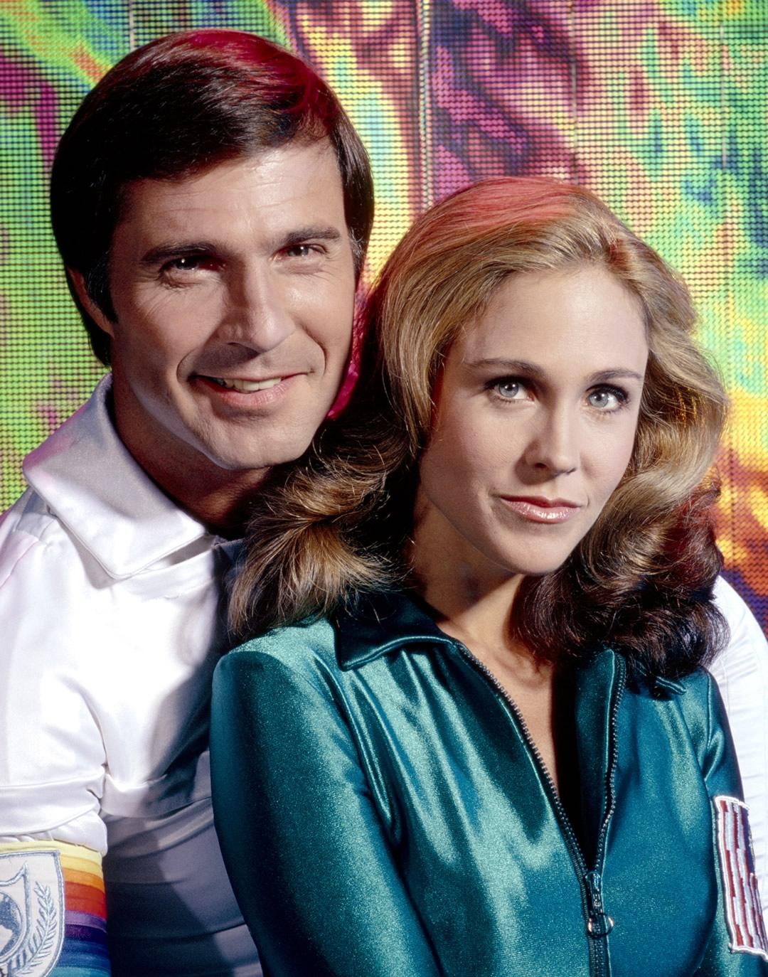 Série de TV Buck Rogers - Erin Gray como Coronel Wilma Deering e Gil Gerard como Buck Rogers
